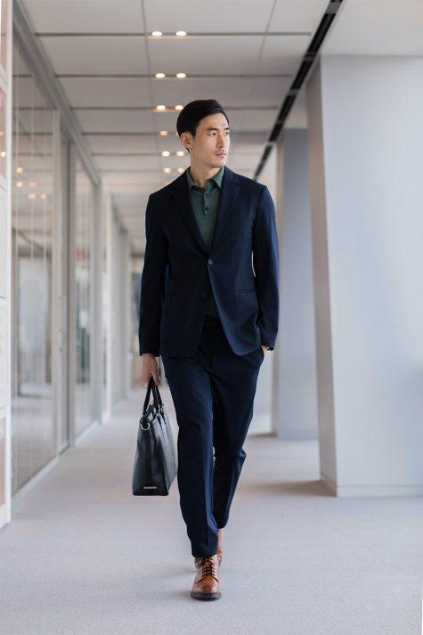 mặc suit phong cách khi đến văn phòng